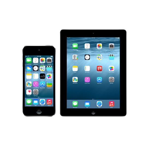 Apple iPhone en iPad
