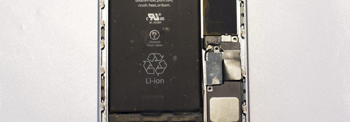 iPhone 6 plus na in wc te zijn gevallen waterschade