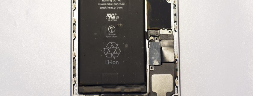 iPhone 6 plus na in wc te zijn gevallen waterschade